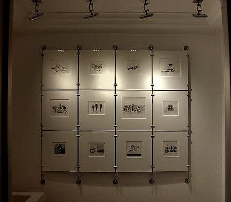 Wayne Thiebaud Print Display
